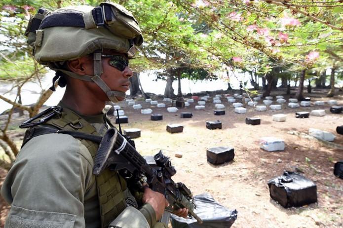 Cocaïne van Usuga clan in beslag genomen door Colombiaanse autoriteiten