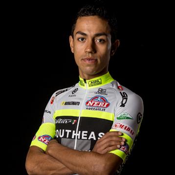 Zes Colombianen in Giro d'Italia 2016 - JairoBernal.com Felipe Daniel Martinez
