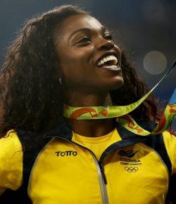 Catherine Ibargüen genomineerd voor beste atlete van het jaar