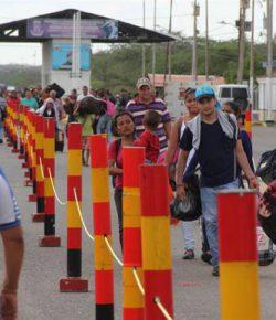 Grote drukte bij heropende grens tussen Colombia en Venezuela
