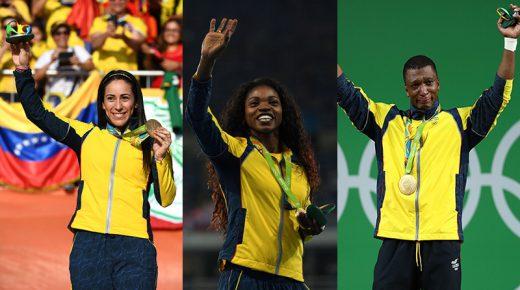 De Olympische kampioenen in beeld