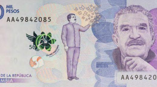 Het nieuwe bankbiljet van 50.000 pesos in circulatie