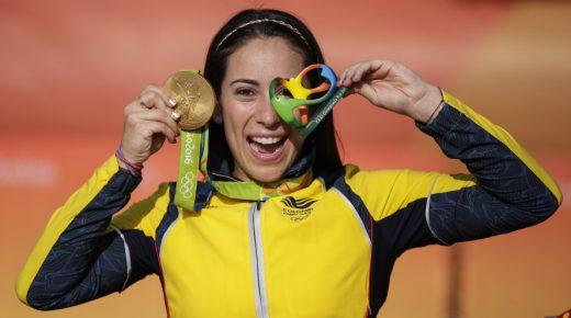 Mariana Pajón pakt goud in Rio