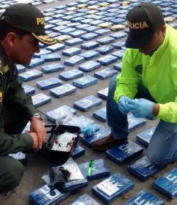 Colombia onderschepte dit jaar al recordhoeveelheid drugs