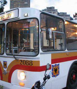De trolleybus keert terug in Bogotá