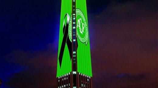 Bogotá toont met toren Colpatria eerbetoon aan slachtoffers vliegtuigramp