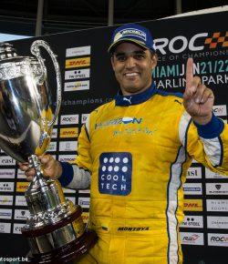 Juan Pablo Montoya wint Race of Champions