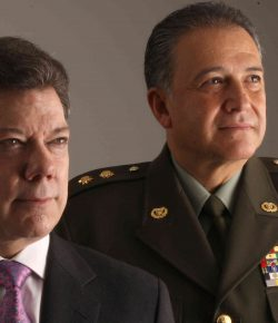 President Santos wil Oscar Naranjo als vicepresident