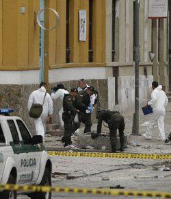 Tientallen gewonden door explosie in Bogotá