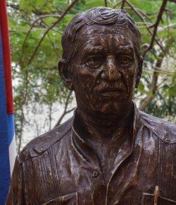 Cuba eert Gabriel Garcia Marquez met standbeeld