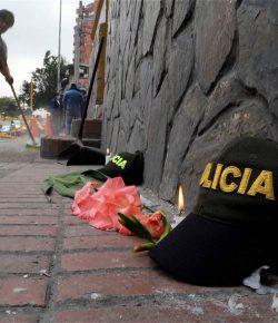 Agent dood na bomaanslag Bogotá
