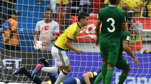 Colombia pakt belangrijke punten tegen Bolivia