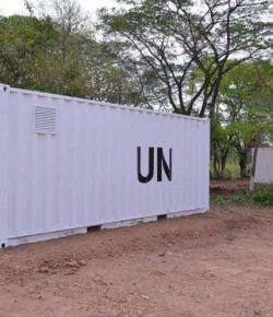 Containers VN aangekomen voor opslag wapens FARC