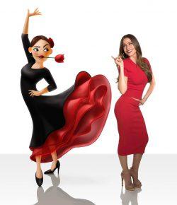 Sofia Vergara spreekt stem in van flamencodanseres in The Emoji Movie