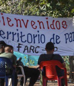 Eerste FARC-rebellen krijgen burgercertificaat in ruil voor wapens