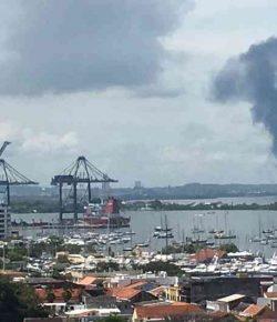 Zes doden door explosies op scheepswerf