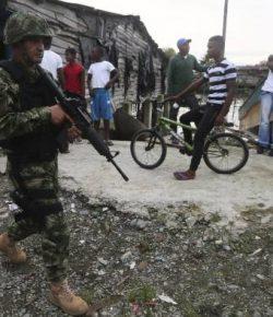 Na plunderingen en rellen avondklok ingesteld in Buenaventura