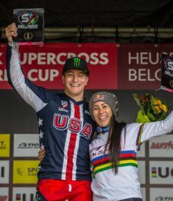 Mariana Pajón pakt goud op Wereldbeker BMX in België