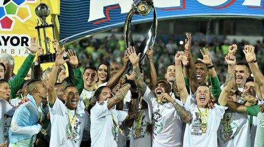 Atlético Nacional voor de zestiende keer kampioen van Colombia