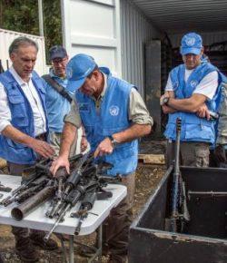 VN-missie in Colombia heeft 40% van de wapens van de FARC ingenomen