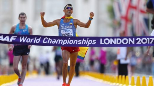 Snelwandelaar Arevalo wint goud op WK atletiek in Londen