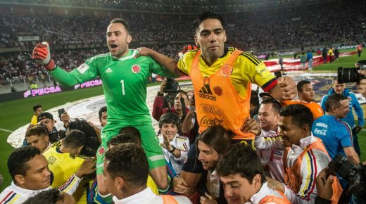 Colombia speelt gelijk tegen Peru en kwalificeert zich voor het WK