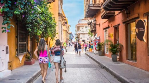 Van januari tot september steeg het aantal toeristen naar Colombia met meer dan 20%