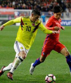 Colombia verliest van Zuid-Korea in oefenduel