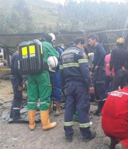 Zes doden bij explosie in kolenmijn in Boyacá
