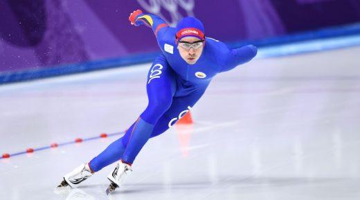 Colombiaanse schaatser Pedro Causil eindigt 20e op 500 meter in Pyeongchang