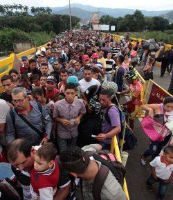 'Colombia moet internationale hulp krijgen voor vluchtelingenstroom Venezuela'