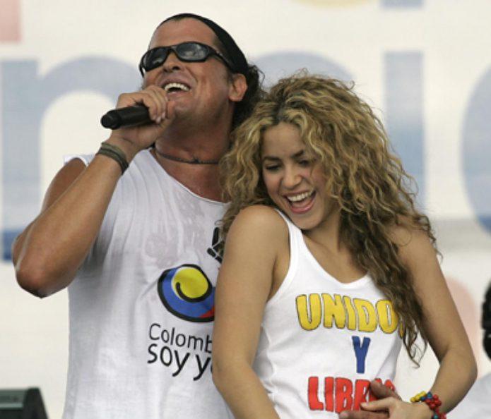 Shakira en Carlos Vives
