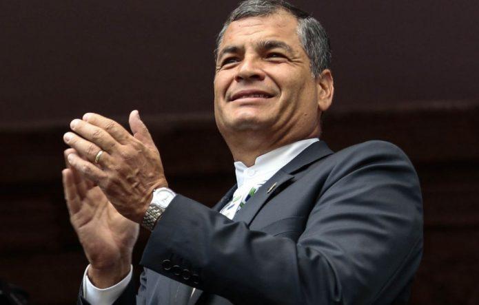 Rafael Correa president Ecuador