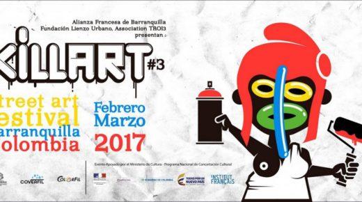 Street Art Festival Killart kleurt Barranquilla