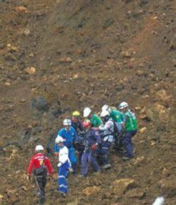 Zes doden bij aardverschuiving in goudmijn in Chocó