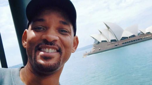 Will Smith neemt film op in Colombia