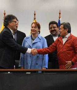 Vredesonderhandelingen met ELN worden donderdag hervat