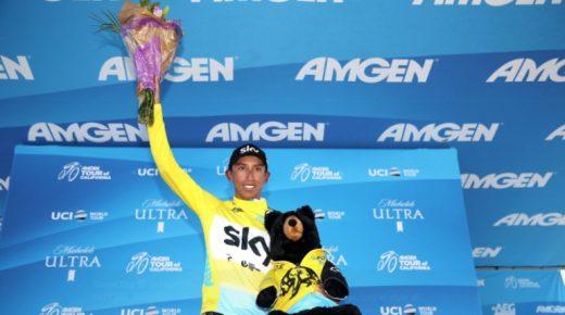 Egan Bernal eindwinnaar Ronde van Californië, Fernando Gaviria wint slotrit