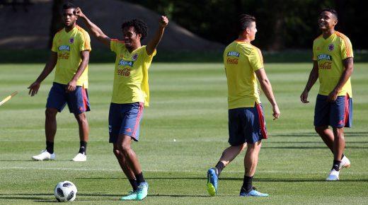 Colombia traint in Italië voor vriendschappelijk duel tegen Egypte