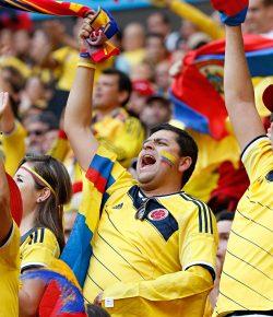 Colombia het duurste elftal om te volgen