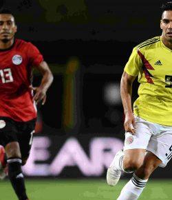 Colombia speelt gelijkspel tegen Egypte in vriendschappelijk duel