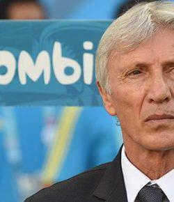 'Bondscoach Pékerman neemt afscheid van Colombiaanse ploeg'