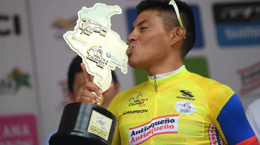 Jonathan Caicedo winnaar Ronde van Colombia 2018