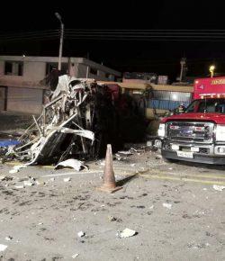 Meer dan 24 doden door busongeluk in Ecuador met Colombiaanse bus