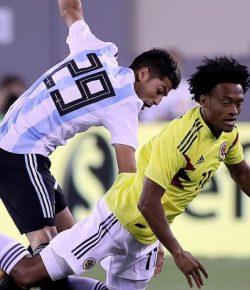 Colombia speelt gelijk tegen Argentinië in vriendschappelijk duel