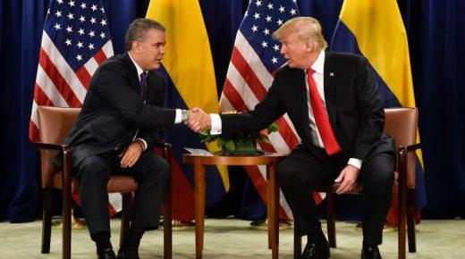 Trump heeft vertrouwen in drugsbeleid Colombia