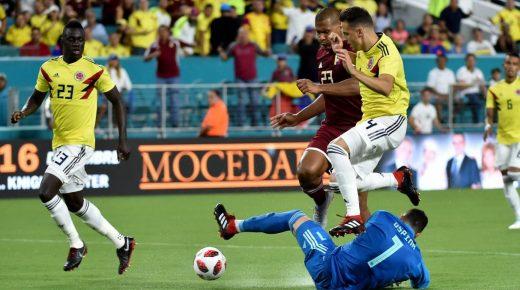 Colombia verslaat Venezuela in vriendschappelijk duel