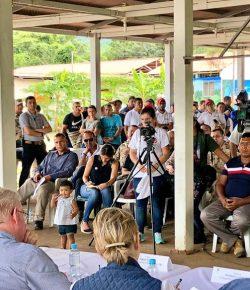 Duque bezoekt voor het eerst re-integratiekamp voormalige FARC-guerrilla's