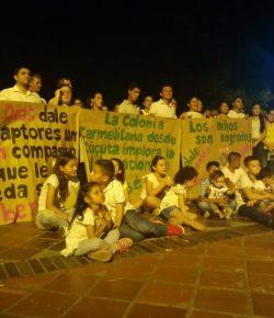 Demonstraties voor vrijlating ontvoerde zoon van burgemeester
