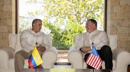 """VS en Colombia willen democratie in Venezuela """"herstellen"""""""